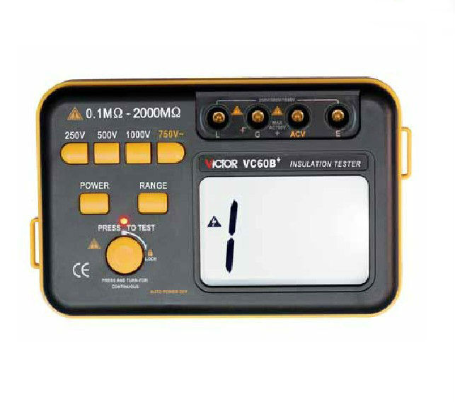 ФОТО VC60B+ Insulation Resistance Tester Meter Megohmmeter NEW free shipping