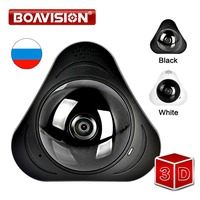 1.3MP 360 Degree WIFI IP Camera 960P Baby Monitor Two Way Audio Home Security CCTV WI FI Camera Android Panorama 3D VR Cameras