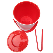 Ice Cream Tools ice bucket 1.2L cream wine cooler champagne spit wire barrel container holder