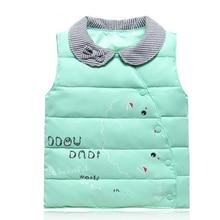 Bébé Gilets Nouveau-Né Bébé Vêtements Bébé Garçon Filles Veste Enfants Vêtements D'hiver Enfants Gilets Coton Vers Le Bas Chaud Animal Survêtement