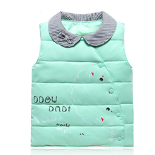 Baby Vests Newborn Baby Clothes Baby Boy Girls Jacket Kids Clothes Winter Children Waistcoats Down Cotton