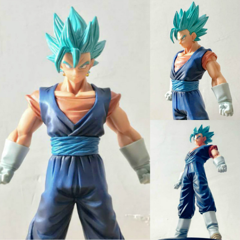 YDAENERYS Anime Figure Dragon Ball Vegetto Super Saiyan God Blue Hair Kakarotto Vegeta Goku Action Figure Toys Model Kids Gift new hot 21cm dragon ball super saiyan 3 son goku kakarotto action figure toys doll collection christmas gift with box sy889