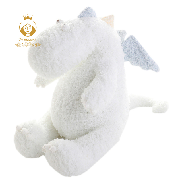 1PCS 40CM Cute Little Dragon Plush Toys, Simulation Dinosaur Plush Stuffed Toys, Baby To Accompany Sleep Toys, Christmas Gift