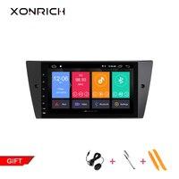 Xonrich 2G RAM 1 Din Android 9.0 Car Multimedia DVD Player For BMW E90/E91/E92/E93 Navigation Radio 3 Series GPSAudio 2+32GB IPS