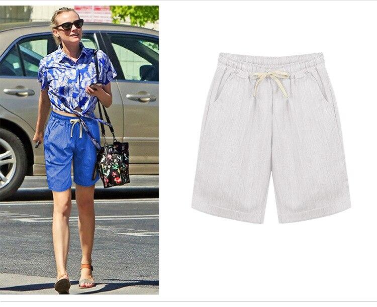 2019 sommer Stil Shorts Frauen Candy Farbe Weibliche Fünf Shorts Plus Größe M-6XL Casual Dame Shorts