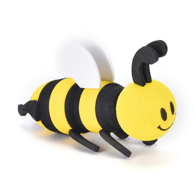 New Lovely Mini Bee Antenna Topper For Car Decoration Ornaments Car Interior Accessories
