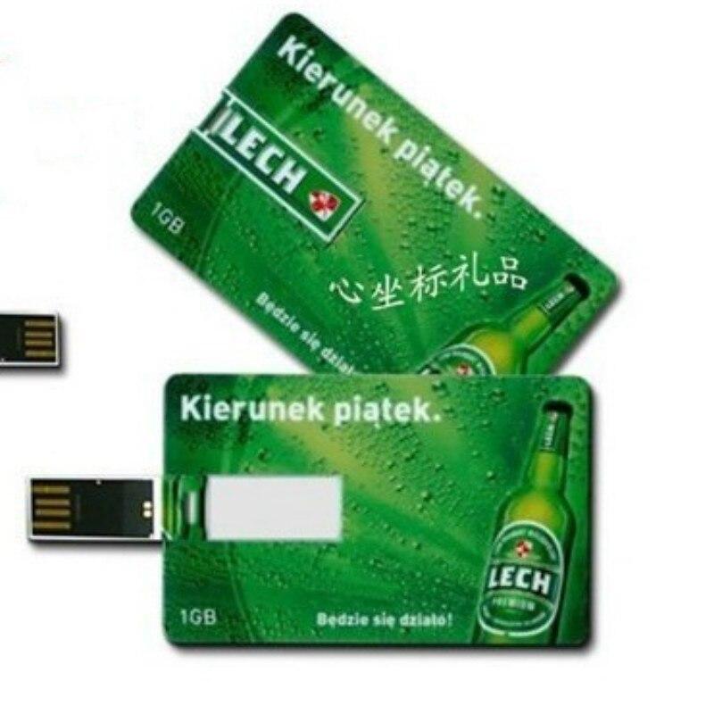 2018 Novelty Best Seller 2.0 4GB 8GB 16GB Custom Logo USB Stick Pen Drive Pendrive Credit Card USB Flash Drive Electronic Gifts