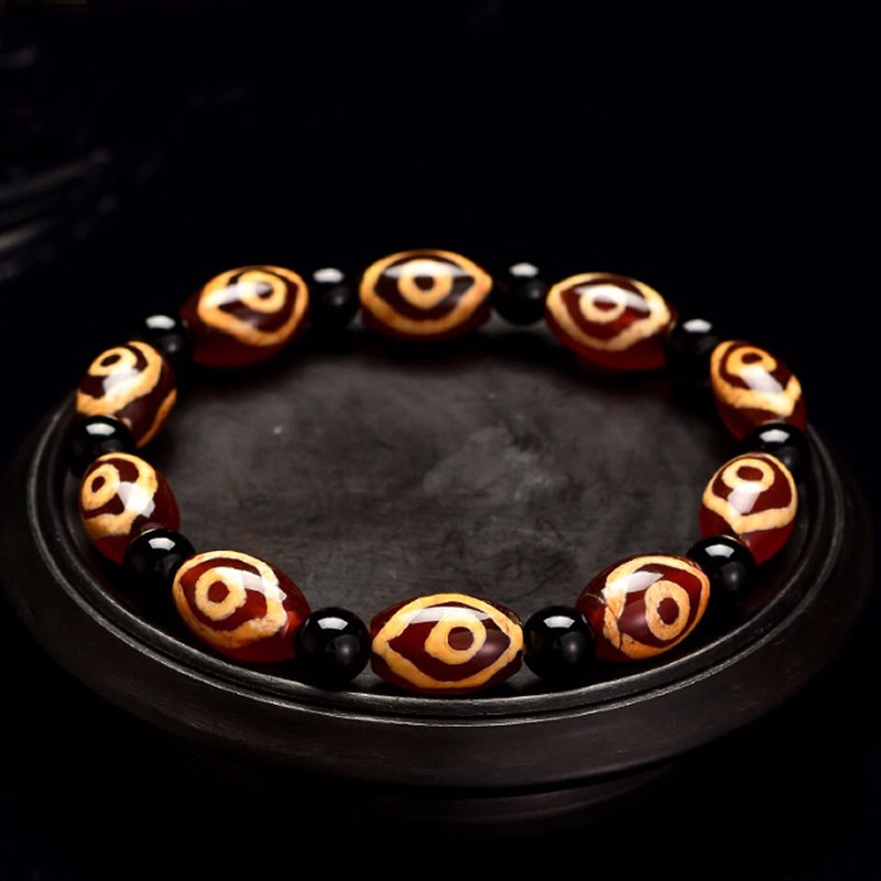 100% Natural Beads Elastic Line Bracelet Womens Bracelet