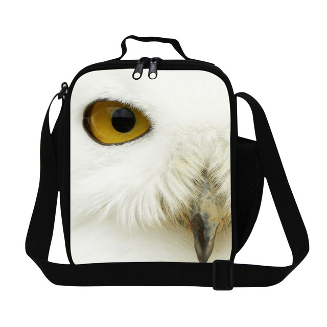 Dispalang 2017 portable thermal lunch bag for women fashion thermo insulated cooler bags cool owl printing packed men lunch bags