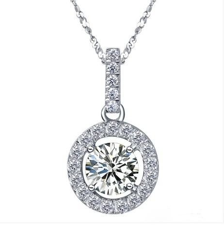 sterling synthetic diamond necklace gold item sunflower fancy diamonds jewelry silver pendant