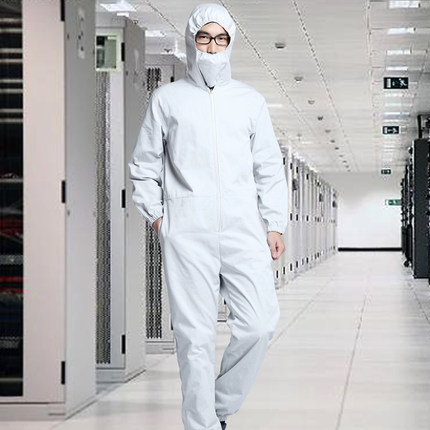 INSAHO Anti-radiation Coveralls With Masks And Hood,Machine Room, Monitoring Room Metal Electromagnetic Radiation Shield,SHD008