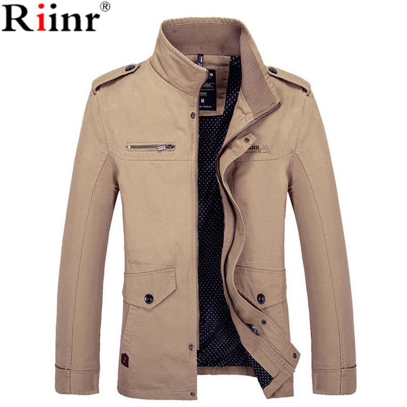 89dabd019bf Riinr 2018 Бренд Новое поступление мужской пиджак Slim Fit высокое качество  Мужская осенняя одежда человек куртки