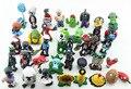 Plants vs Zombies PVC figuras de acción 2.5 - 6.5 cm PVZ 40 unids/set colección figuras juguetes regalos planta + Zombies