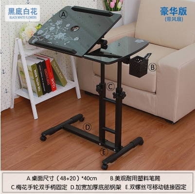 Removable Rotating Twin Column Lift Bed Laptop Table Sofa Side Tables Landmark Formula Lazy Bedside In Children From Furniture On