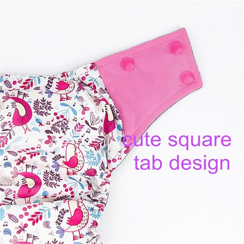 Baby Blöja AIO Baby Använd Cloth Blöja eller Matchar Charcoal - Blöjor och potträning - Foto 6