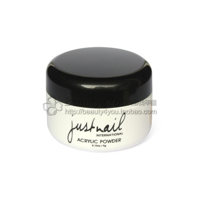 justnail] Manicure armor crystal powder (transparent \\/ White ...