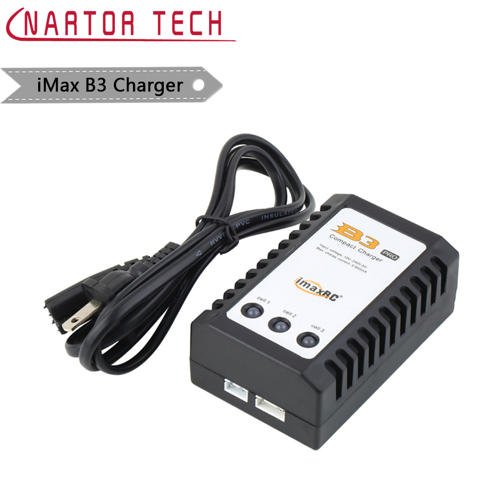 IMAX RC B3 Pro Compact Balance Charger for 2S 3S 7.4V 11.1V Lithium LiPo Battery image