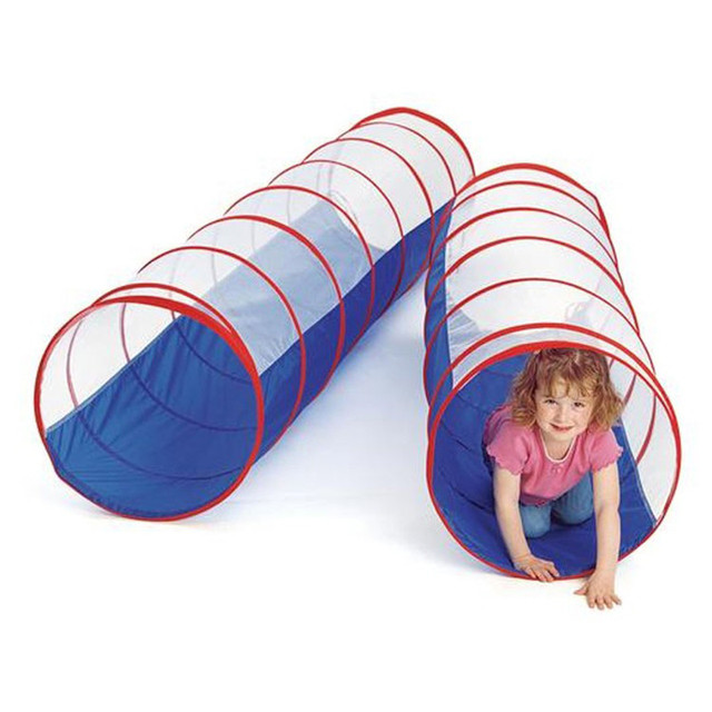 buy popular 6e8f0 f147a US $32.99 |70inch 180*50cm Large Size Children Play Tunnel Toy Tent Kids  Portable Foldable Outdoor Indoor Pop up Discovery Tube Tent Gift-in Toy  Tents ...