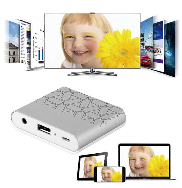 USB To HDMI VGA Audio Video Converter HDTV AV Adapter Dongle For iPhone XS MAX XR 5 6 7 8 Plus ipad Samsung Android Phone to TV