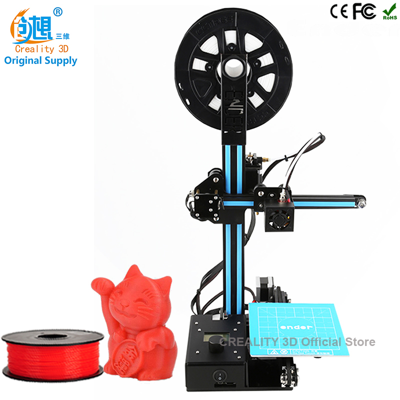 CREALITY 3D Large Printing Area 150 150 200mm Ender 2 Open Build Aluminium Frame 3D Printer