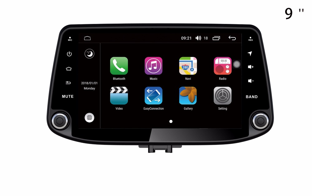 Octa Core Android 8.0 S200 lecteur DVD de voiture pour HYUNDAI I30 2018 écran tactile GPS Navigation multimédia dispositif stéréo de voiture