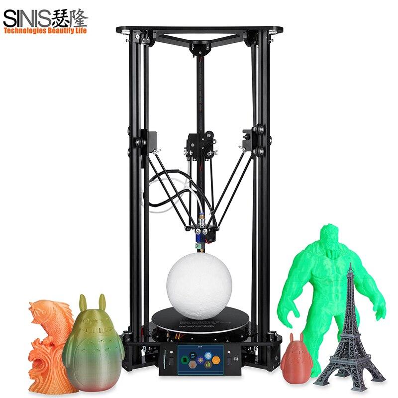 Высокая точность лазерной 3D-принтеры синийс Tech шкив DIY Kit легкими 3D-принтеры машина с автоматической кормления и 1 кг нити