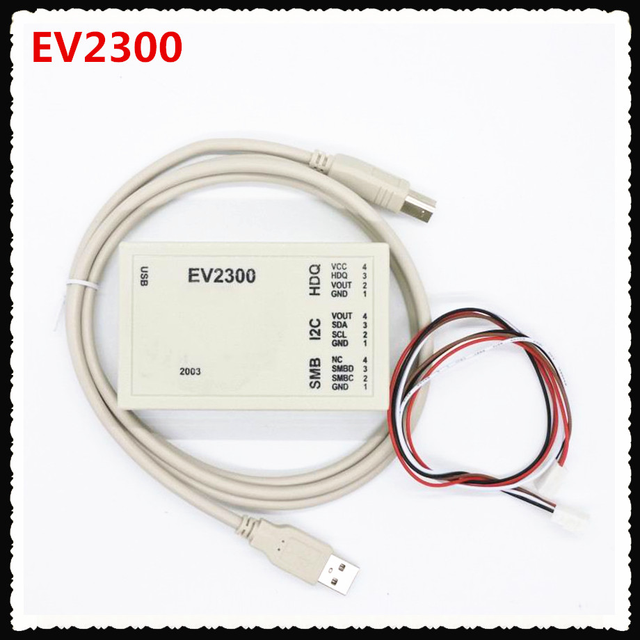 <font><b>EV2300</b></font> detect battery unlocking software maintenance tools to assess BQ8012 USB-based inter image