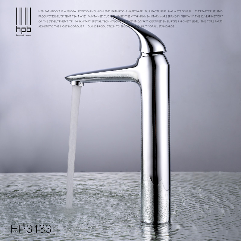 HPB High Quality Tall Copper Brass Basin Faucet Hot and Cold Water Single Handle Bathroom Mixer Tap torneira HP3133 pastoralism and agriculture pennar basin india