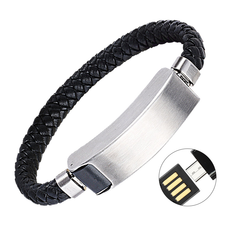 Sport armband usb ladegerät für telefon kabel daten linie adapter ...