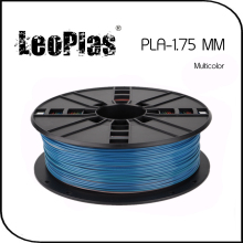 Worldwide Fast Express Within 7 Day Direct Manufacturer 3D Printer Material 1kg 2.2lb 1.75mm Blue Cover Multicolor PLA Filament