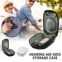 Hearing Aid Case Hard Small Storage Box for BTE, ITC, CIC Pr
