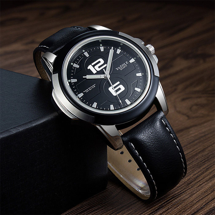 6a6d5714a2d ... Homens Top Marca de Luxo Famoso Relógio De Pulso Relógio de Quartzo  Relógio Masculino Hodinky Relog Relogio masculino. YAZOLE Business Style  Watches Men ...