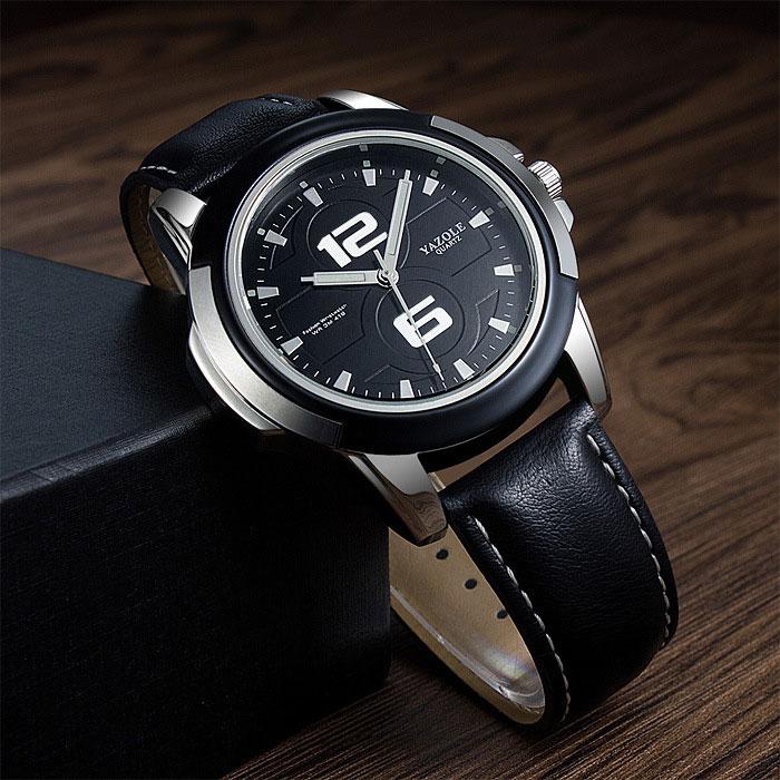 YAZOLE Business Style Watches Men Top Brand Luxury Famous Wristwatch Quartz Watch Male Clock Hodinky Relog Relogio Masculino