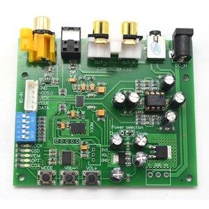 Image 5 - Lusya ES9038Q2M I2S IIS DSD apc fibra coassiale SPDIF Digital Audio DAC Decoder Board Support 32bit 384k DSD64 128 256 A9 012