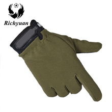 Tactical Gloves Antiskid Army Military Bicycle Airsoft Motocycel Shooting Paintball Work Gear Camo Half Finger