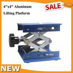 4x4 ''Aluminium Labor-Lift Hebebühnen Stehen Rack Scissor Labor Hebe Labor Jack Laborgeräte