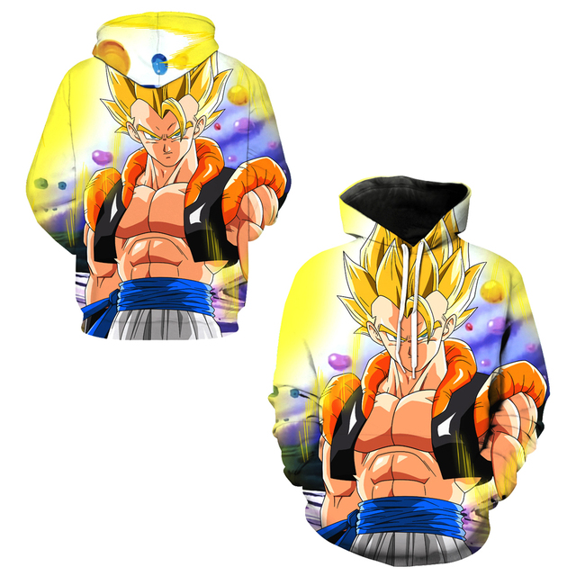 Dragon Ball Z Gogeta Super Saiyan Sweatshirts Hoodie
