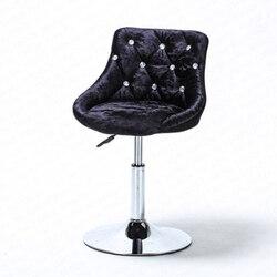 B Bar hocker moderne minimalistischen bar stuhl sessellift rotierende rückenlehne stuhl hause hohe hocker bar nägel hocker