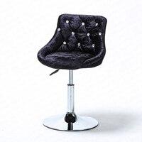 B stołek barowy nowoczesna minimalistyczna listwa podnosząca krzesło obrotowe oparcie krzesło domowe wysoki stołek stołek barowy w Krzesła barowe od Meble na