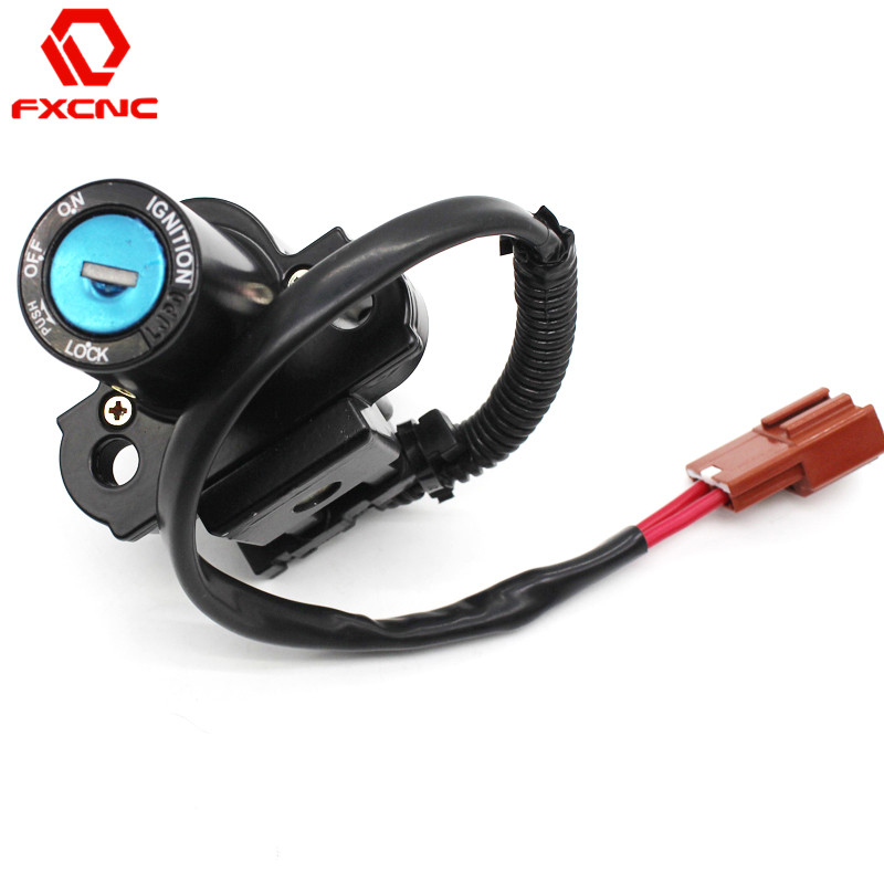 FOR Honda CBR600RR 2007-2013 CBR1000RR 2004-2012 2011 2010 2009 2008 2007 CNC Motorcycle Switch Motorcycle Ignition Switch Key