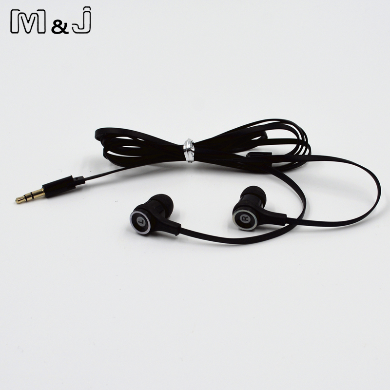 M&J JM21  Original Stereo Earphone Colorful Brand Headset  Earbuds Earpod for Gaming Player Mobile Phone PC for Xiaomi iPhone original einsear fix hifi earphone metal stereo headset earbuds auricular for iphone xiaomi for samsung all 3 5mm mobile phone