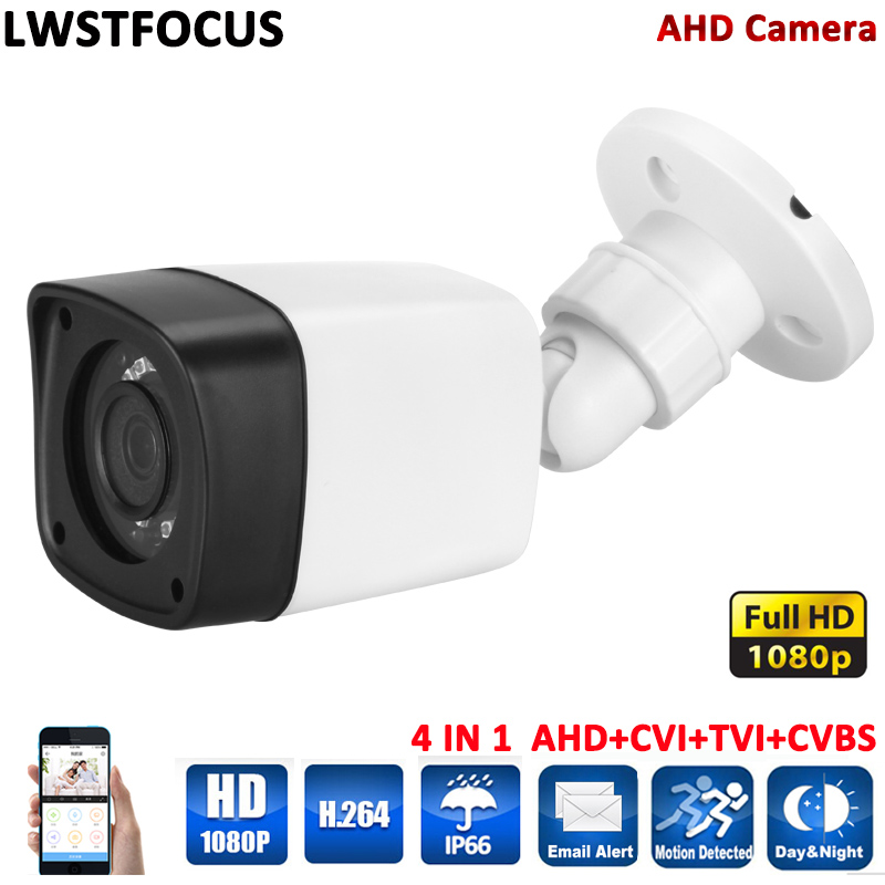 1080P AHD Camera 4 in 1 bullet Camera Waterproof Outdoor AHD CCTV Video Surveillance 20M IR Range CCTV Security 2MP AHD Camera latest 4 6 8 12 16mm lens ahd camera 1080p 960p 720p waterproof outdoor cctv digital ir security surveillance bullet camera j628