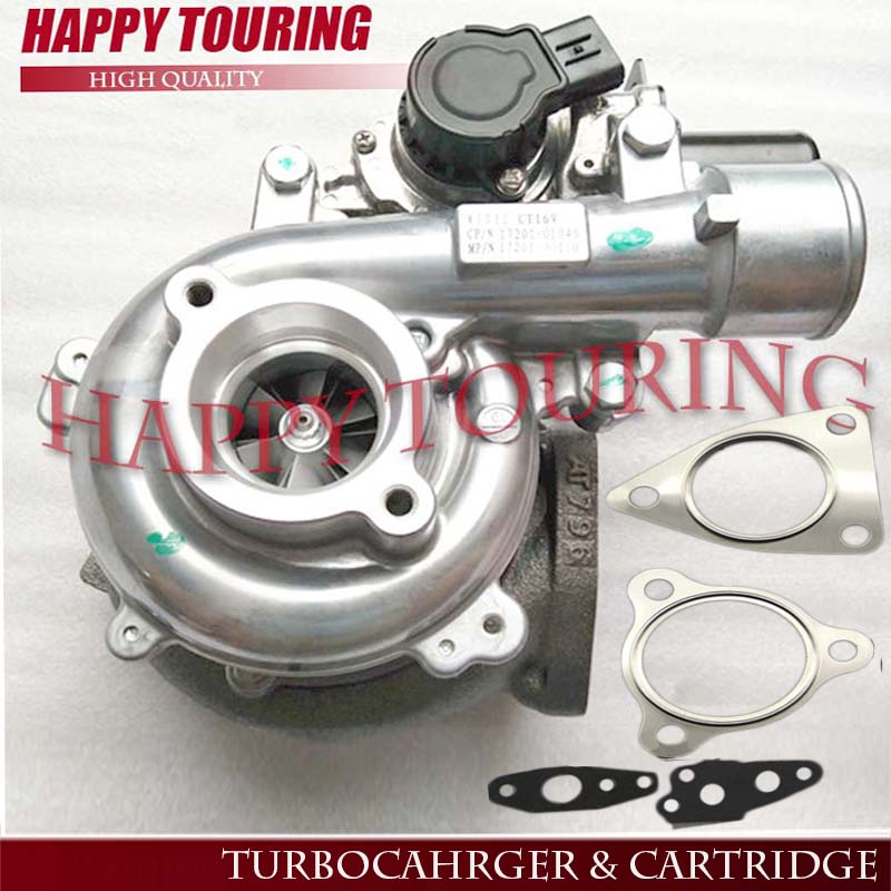 CT16V Electronic Actuator Turbocharger Complete turbo for Toyota Hilux 3.0 D4D 171 HP 1KD-FTV 127 Kw 17201-30110 17201-0L040