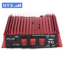 3-30Mhz HF Transceiver Ham HYS TC-200 mini CB Radio HF Power amplifier for walkie talkie