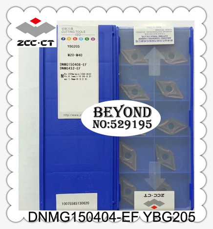 Dnmg150404 ef Ybg205 Zcc Cutting Blade milling Insert Zhuzhou Diamond Original Products The Price Ratio Is