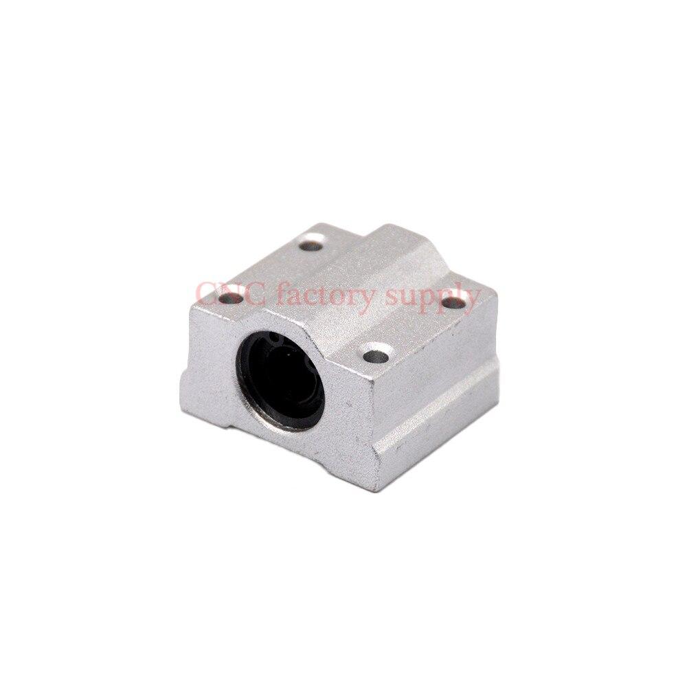 4 шт./лот Бесплатная доставка SC20UU SCS20UU 20 мм линейный Шарикоподшипниковый блок CNC маршрутизатор