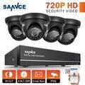 Sannce 4ch 1080 p hdmi cctv sistema 4 unids 720 p 1280tvl cámaras de seguridad de 4 canales cctv dvr kit