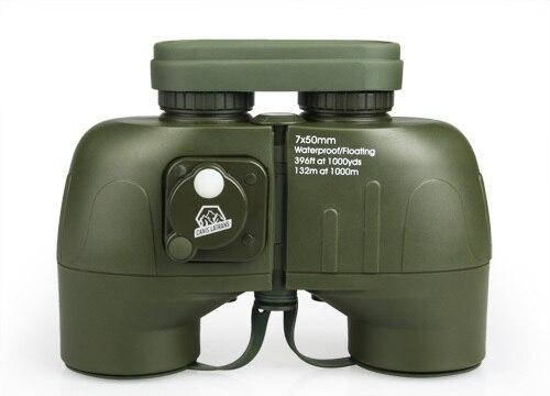 High Qualtiy New 7x50 Binoculars Telescopes For Hunting Waterproof Green Color HS3-0044