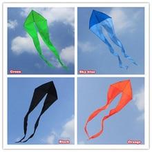 Новинка 7 м мощность треугольные воздушные змеи/воздушный змей-призрак с ручкой и линией хороший Летающий