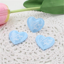 100pcs 3.5CM Love Heart Shaped Sponge Petal For Wedding Decorative Handmade DIY Petals Birthday Table Party Supplies Confetti
